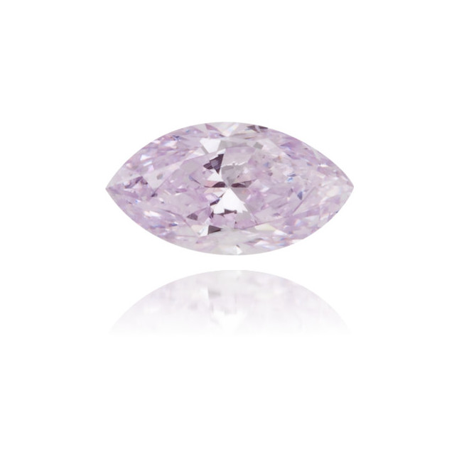 Natural Purple Diamond Marquise 0.18 ct Polished