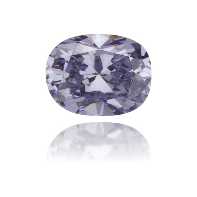 Natural Blue Diamond Oval 0.15 ct Polished