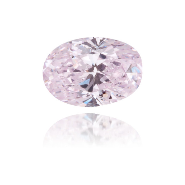 Natural Purple Diamond Oval 0.29 ct Polished