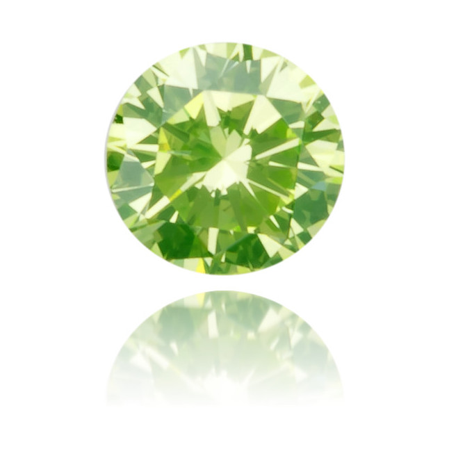 Natural Green Diamond Round 0 10 Ct Polished