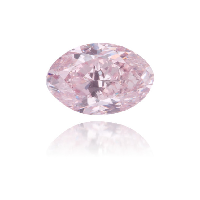 Natural Pink Diamond Oval 0.32 ct Polished