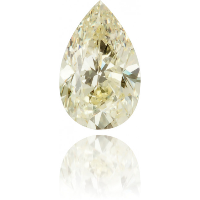 Natural Yellow Diamond Pear Shape 0.27 ct Polished