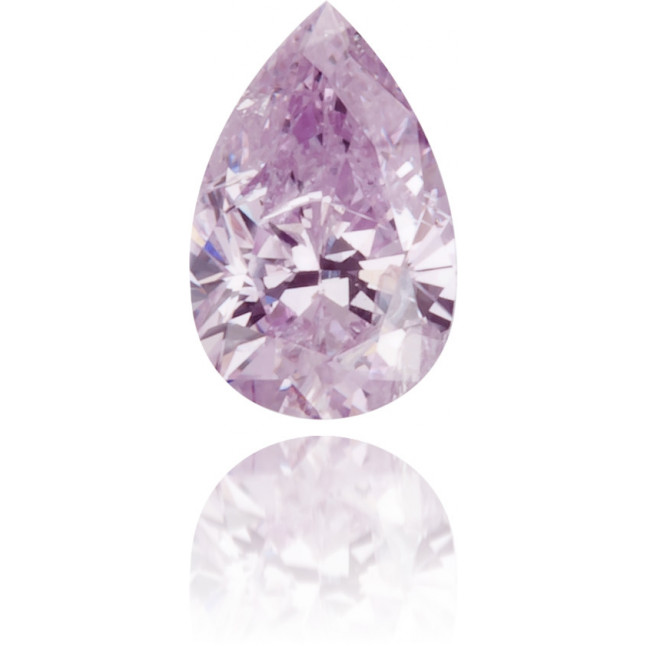 Natural Purple Diamond Pear Shape 0.18 ct Polished