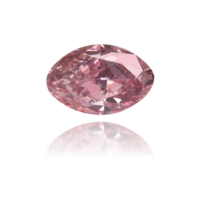 Natural Pink Diamond Oval 0.37 ct Polished