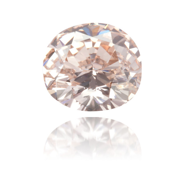 Natural Pink Diamond Cushion 1.01 ct Polished