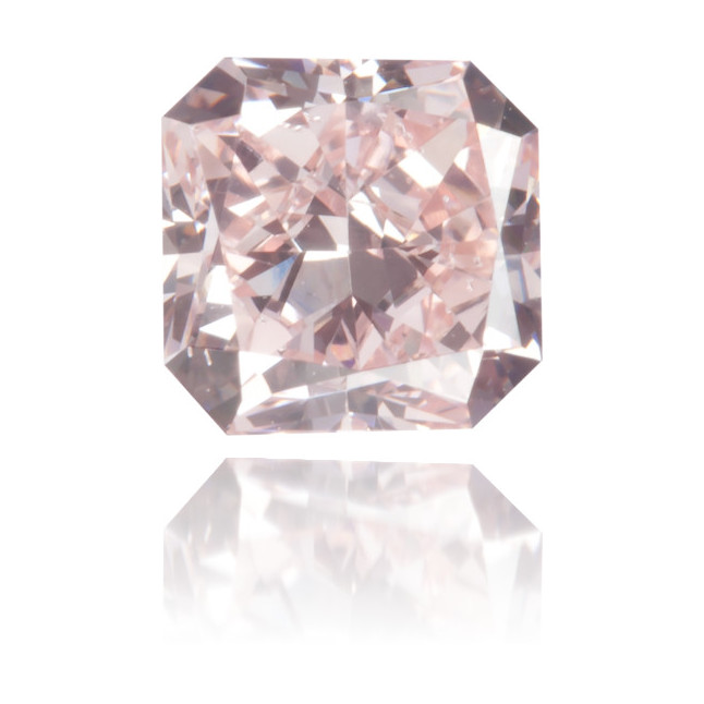 Natural Pink Diamond Square 0.61 ct Polished