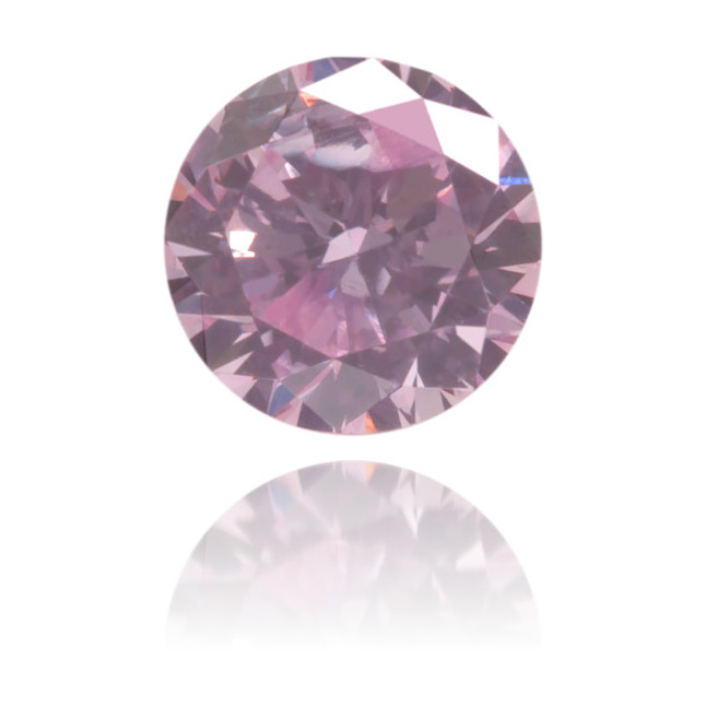 Natural Pink Diamond Round 0.24 ct Polished