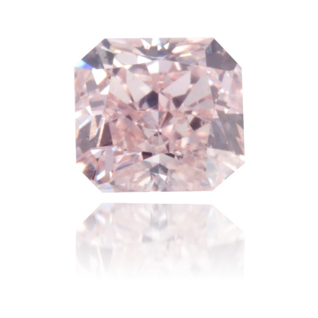 Natural Pink Diamond Rectangle 0.41 ct Polished
