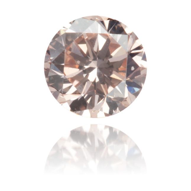 Natural Pink Diamond Round 0.41 ct Polished