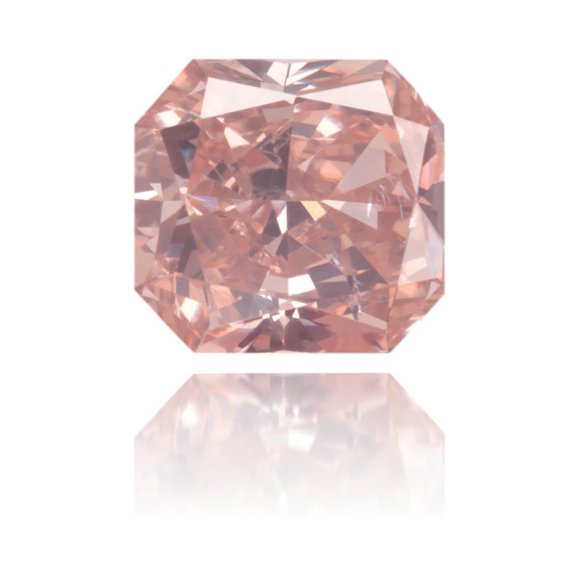 Natural Pink Diamond Rectangle 0.43 ct Polished