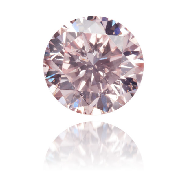 Natural Pink Diamond Round 0.51 ct Polished