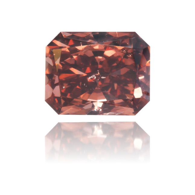 Natural Pink Diamond Rectangle 0.48 ct Polished