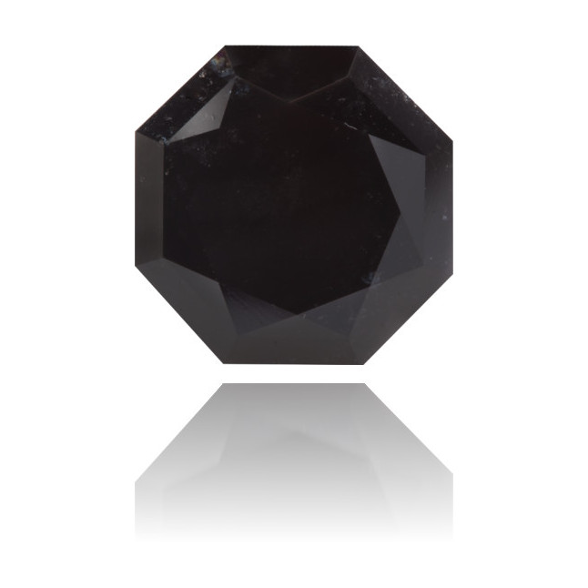Natural Black Diamond Octagon 15.95 ct Polished