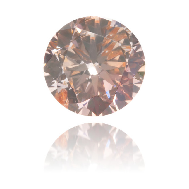 Natural Pink Diamond Round 0.55 ct Polished