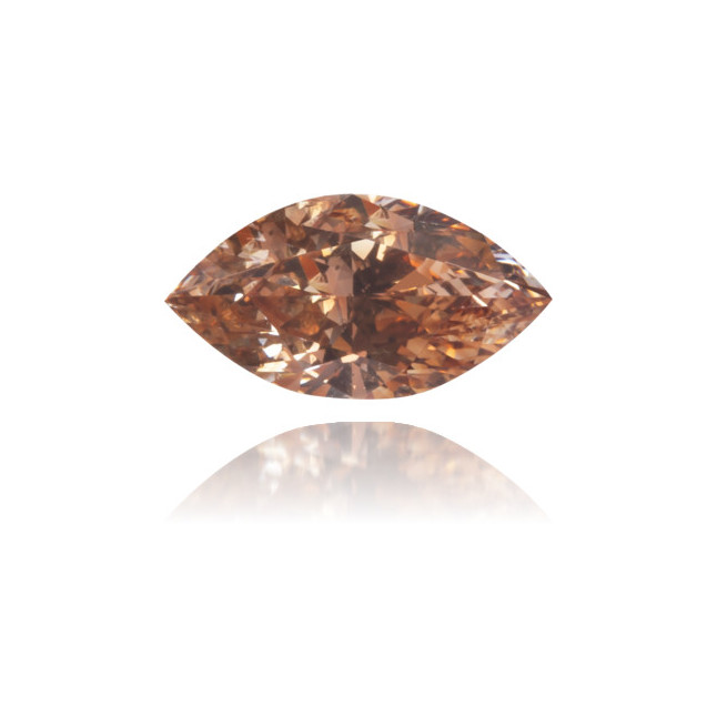 Natural Brown Diamond Marquise 0.31 ct Polished