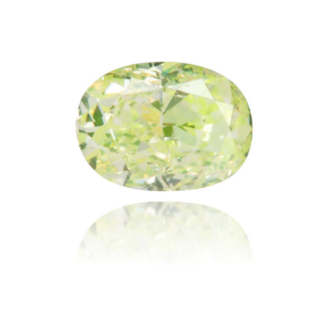 Natural Green Diamond Oval/Cushion 0.25 ct Polished