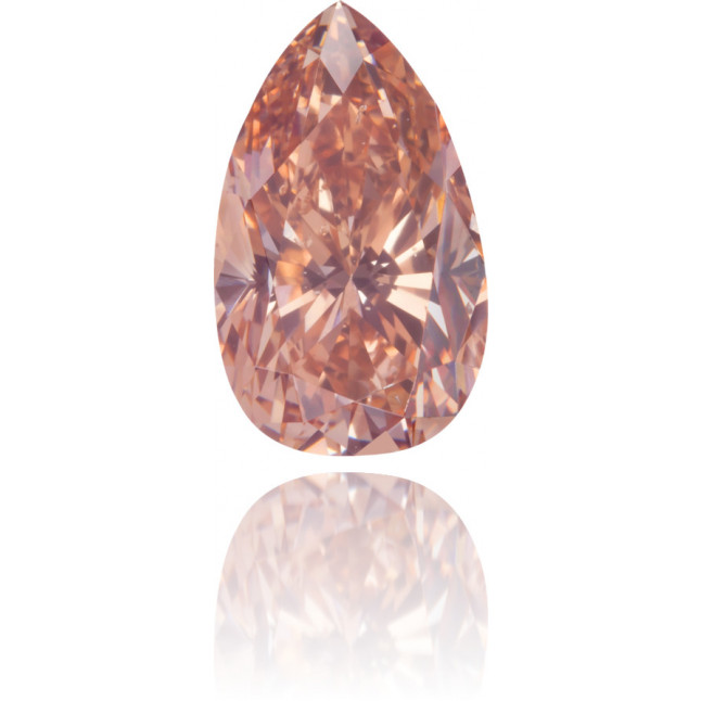 Natural Pink Diamond Pear Shape 1.03 ct Polished
