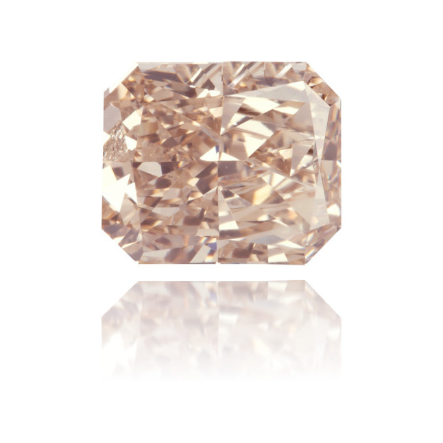 Natural Pink Diamond Rectangle 1.50 ct Polished