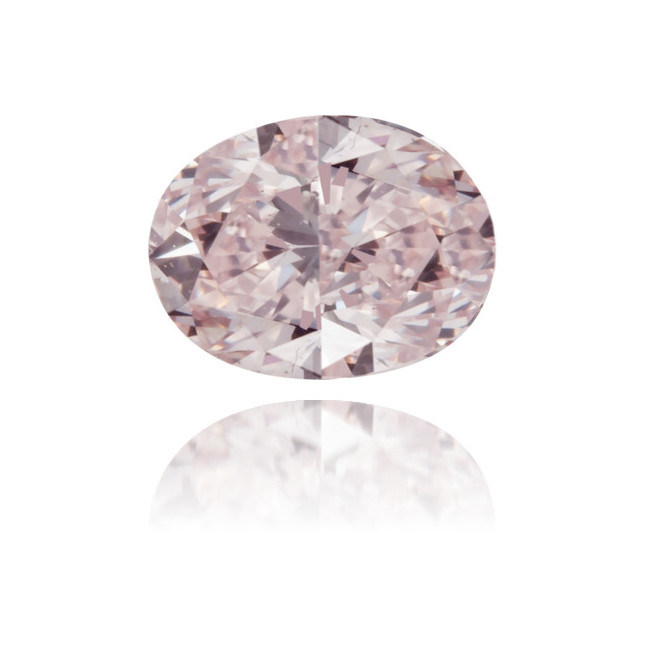 Natural Pink Diamond Oval 0.24 ct Polished