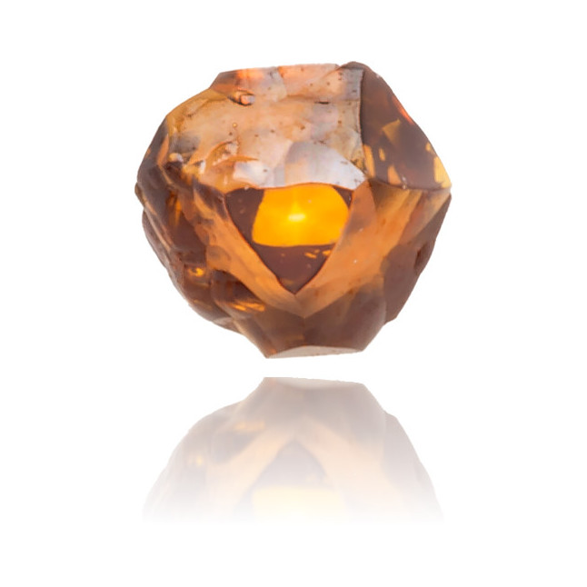 Natural Orange Diamond Rough 0.10 ct Rough