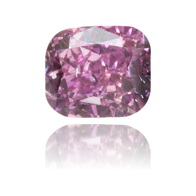 Natural Purple Diamond Rectangle 0.16 ct Polished