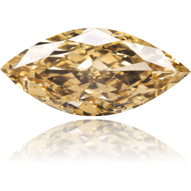 Natural Brown Diamond Marquise 2.39 ct Polished