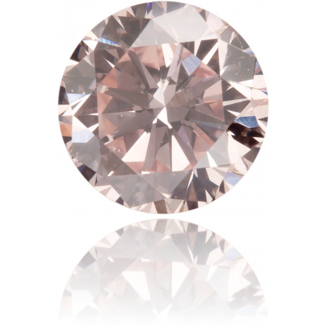 Natural Pink Diamond Round 0.59 ct Polished