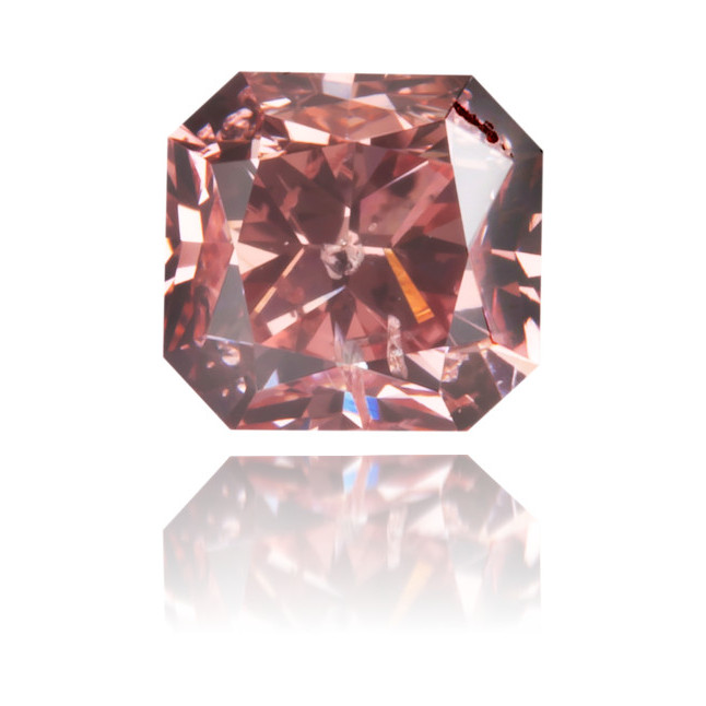 Natural Pink Diamond Rectangle 0.47 ct Polished