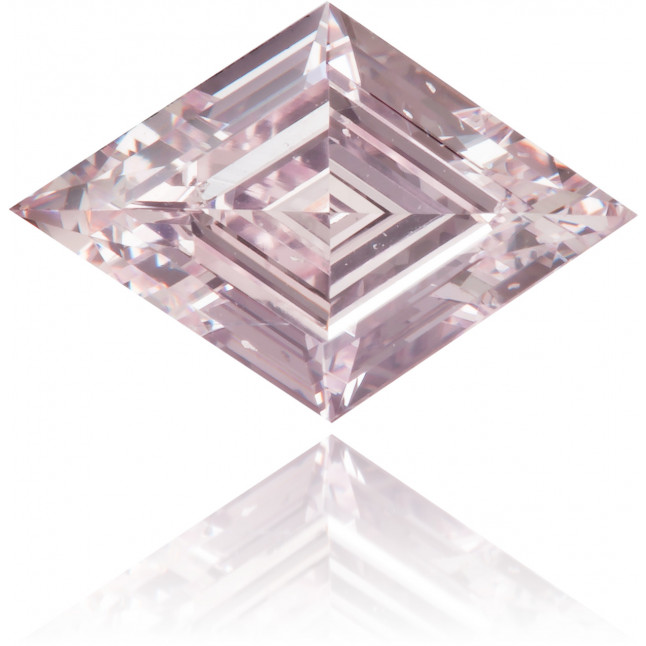 Natural Pink Diamond Kite 0.59 ct Polished