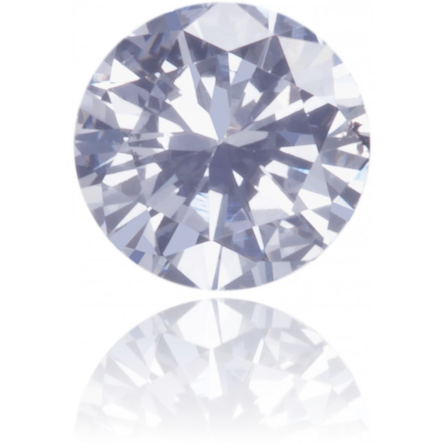 Natural Blue Diamond Round 0.12 ct Polished