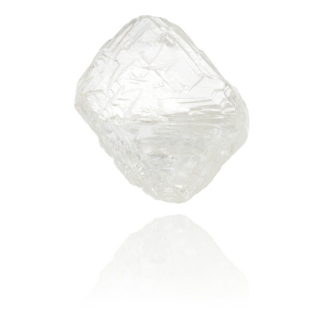 Natural White Diamond Rough 6.70 ct Rough