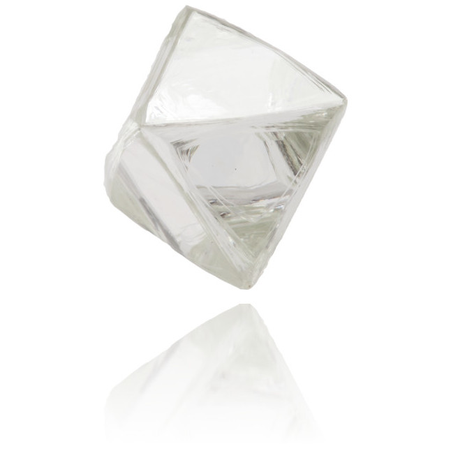Natural White Diamond Rough 2.94 ct Rough