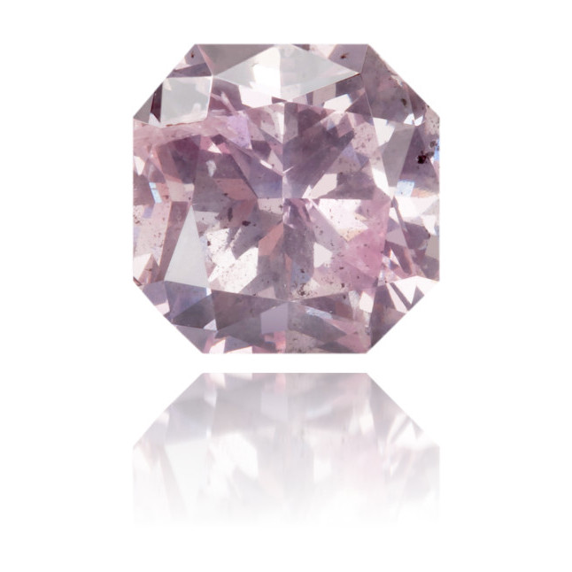 Natural Pink Diamond Square 1.08 ct Polished