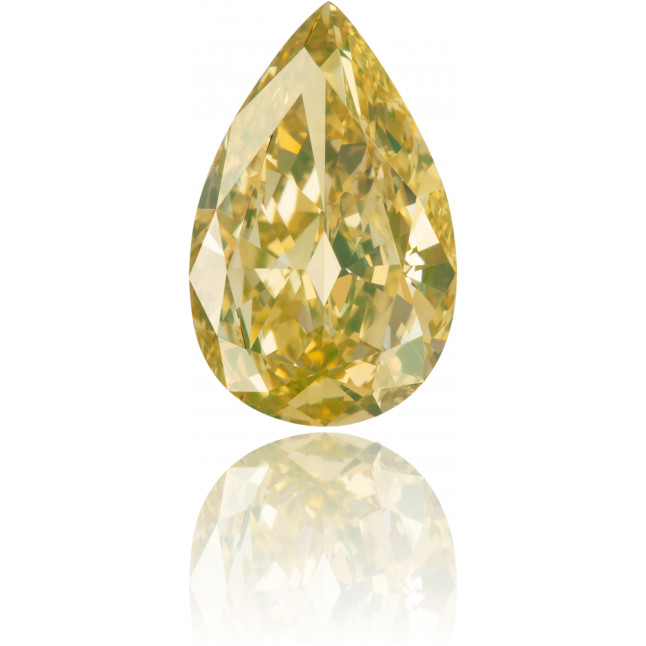 Natural Green Diamond Pear Shape 2.03 ct Polished