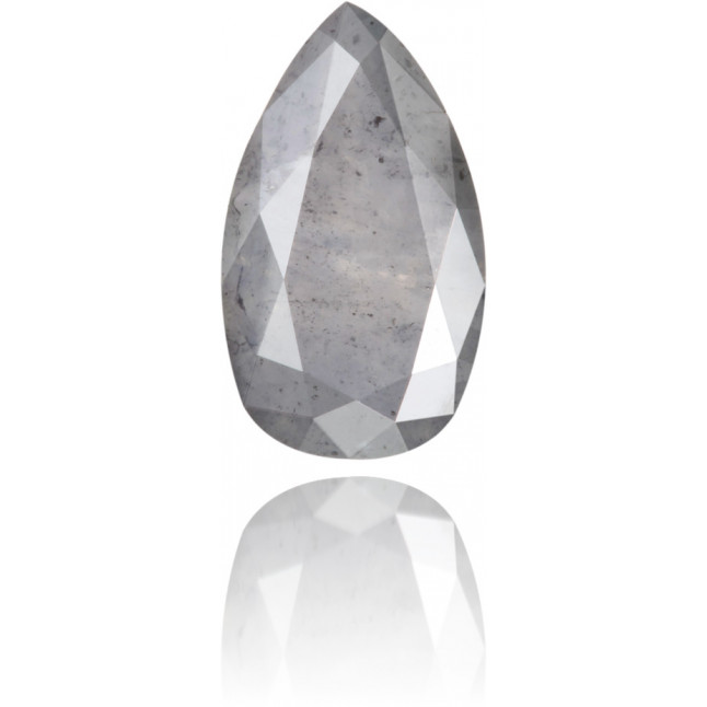 Natural Gray Diamond Pear Shape 1.53 ct Polished
