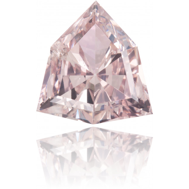 Natural Pink Diamond Shield 1.22 ct Polished
