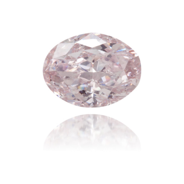 Natural Pink Diamond Oval 0.20 ct Polished