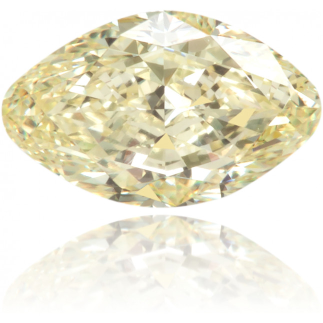 Natural Yellow Diamond Oval 0.33 ct Polished