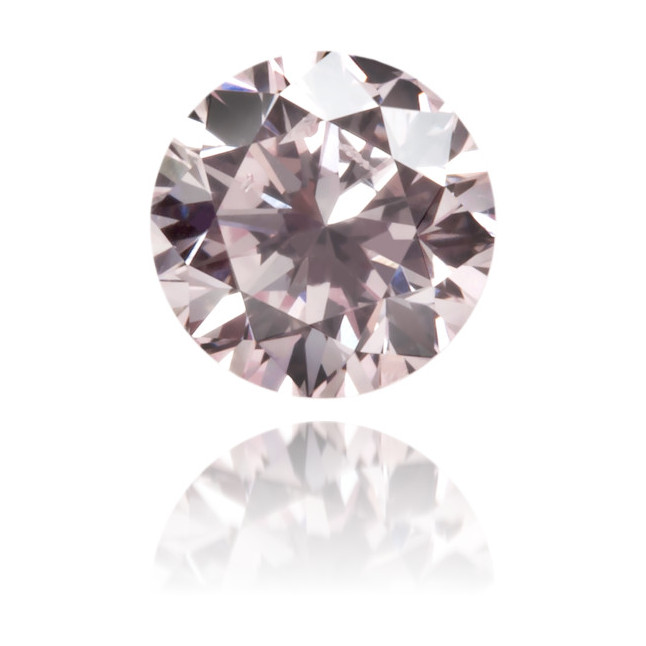 Natural Pink Diamond Round 0.26 ct Polished
