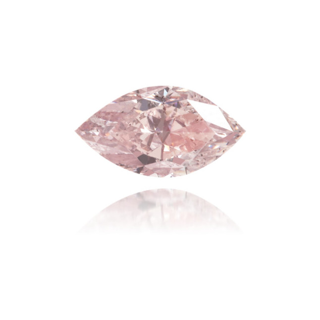 Natural Pink Diamond Marquise 0.33 ct Polished