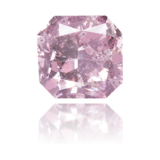 Natural Pink Diamond Square 0.30 ct Polished