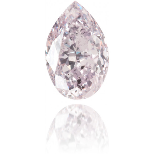 Natural Pink Diamond Pear Shape 0.43 ct Polished