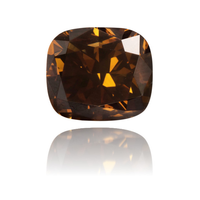Natural Brown Diamond Rectangle 3.16 ct Polished