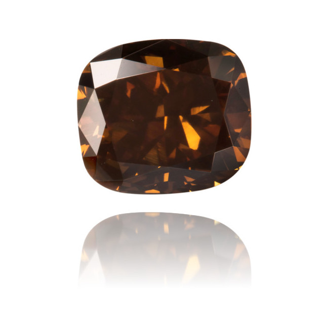 Natural Brown Diamond Rectangle 3.34 ct Polished