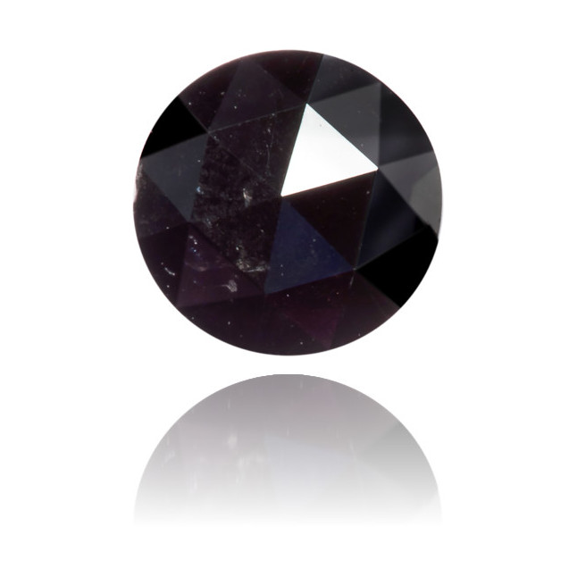 Natural Black Diamond Rose Cut 0.42 ct Polished