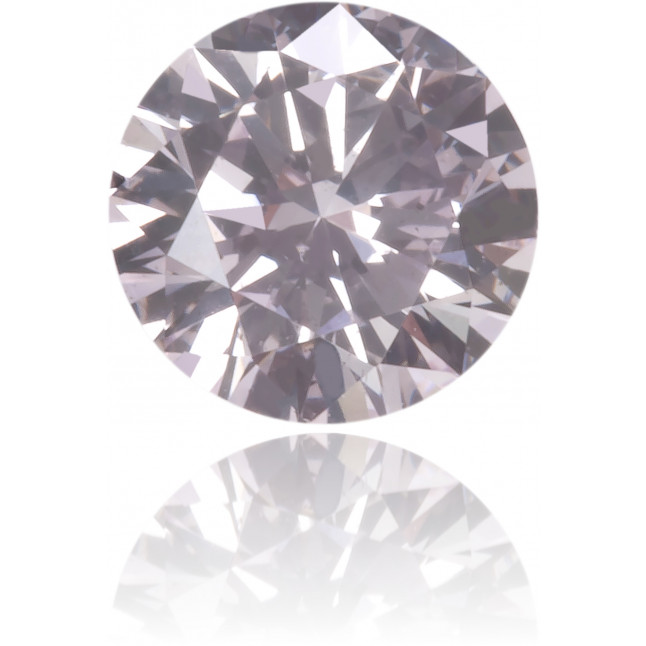 Natural Pink Diamond Round 0.21 ct Polished