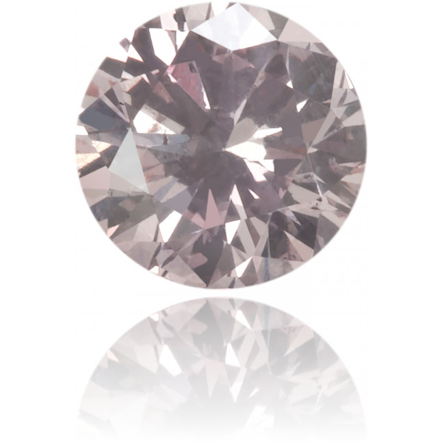 Natural Pink Diamond Round 0.18 ct Polished