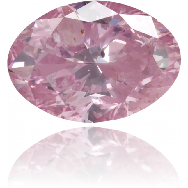 Natural Pink Diamond Oval 0.27 ct Polished