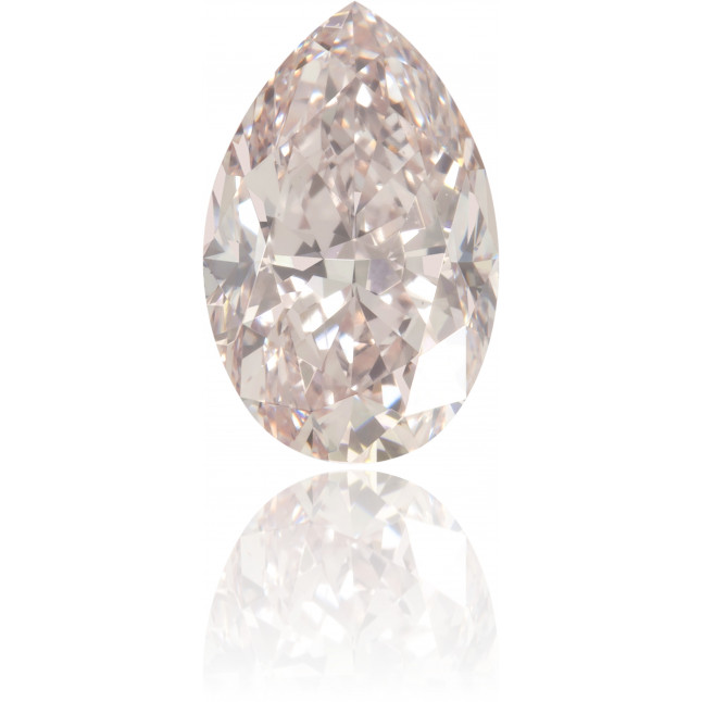 Natural Pink Diamond Pear Shape 0.81 ct Polished
