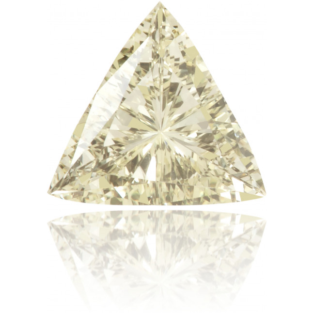 Natural Yellow Diamond Triangle 0.21 ct Polished